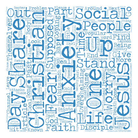 Lesson from the Past Stand up Word Cloud Concept Text Background