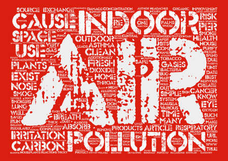 safer: Is Indoor Air Safe Simple Steps to Make It Safer text background word cloud concept