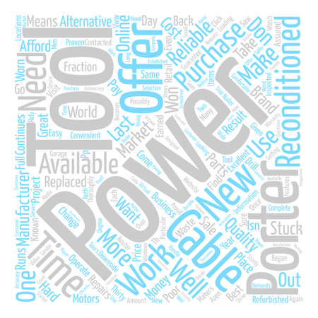 Porter Cable text background word cloud concept