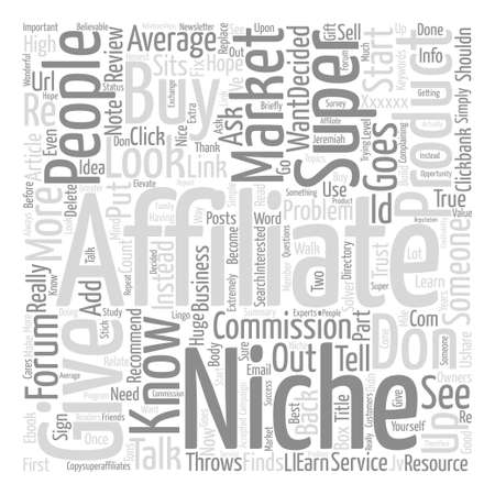 Why Super Affiliates Start With People Word Cloud Concept Text Background