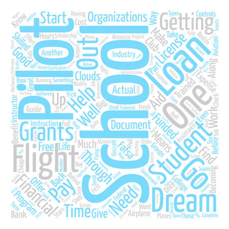 How to Pay for Your Dream Word Cloud Concept Text Background