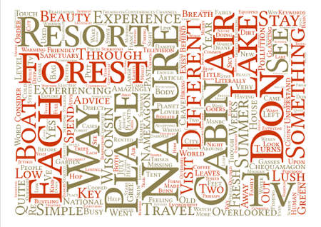 Don t Touch It and other simple nature friendly advice Word Cloud Concept Text Background