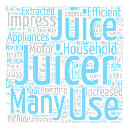 Juicers your source for ambrosia text background word cloud concept