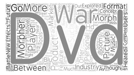 Same old and brand new DVD talk text background word cloud concept