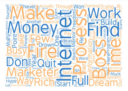How To Fire Your Boss This Year text background word cloud concept