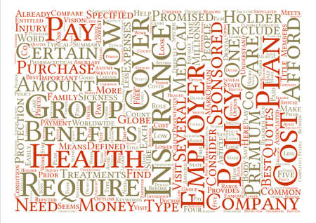 obtain: How To Obtain Low Cost Health Insurance Word Cloud Concept Text Background