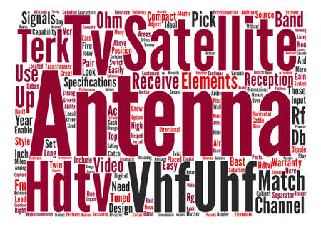 enables: hdtv satellite Word Cloud Concept Text Background