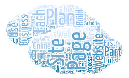 H F L team Business Plans The Art Of The Website part II text background word cloud concept
