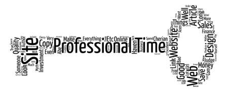 How To Make An Excellent Investment In Your Web Site Design text background word cloud concept