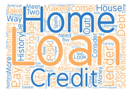homeowners: What Home Loan Lenders Look For In Would be Homeowners Word Cloud Concept Text Background Illustration