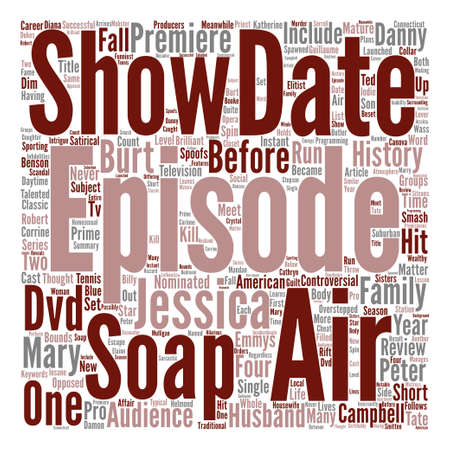 nominated: Soap DVD Review Word Cloud Concept Text Background