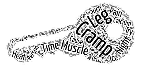 Night Creepers Called Cramps text background word cloud concept Çizim