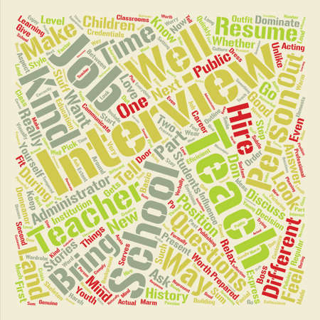 I Want to Teach in Your School text background word cloud concept