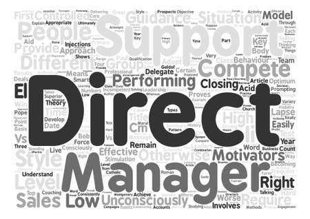 consciously: How To Develop A First Class Sales Team text background word cloud concept Illustration