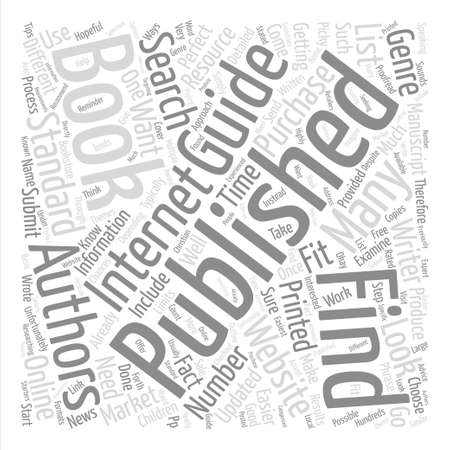 publishers: How to Find Book Publishers text background word cloud concept
