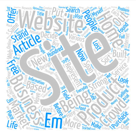 The Graphic Problem text background word cloud concept Illustration
