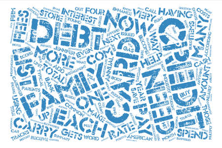 according: How many Credit Cards do I need text background word cloud concept