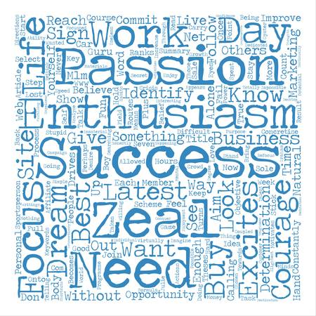 What do you need to do to be successful text background word cloud concept