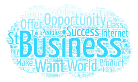What Does Success Look Like text background word cloud concept Illustration