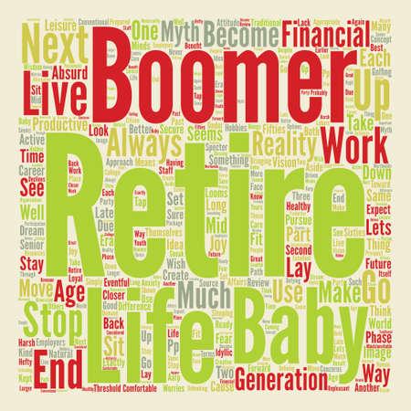Next Stop Retirement text background word cloud concept