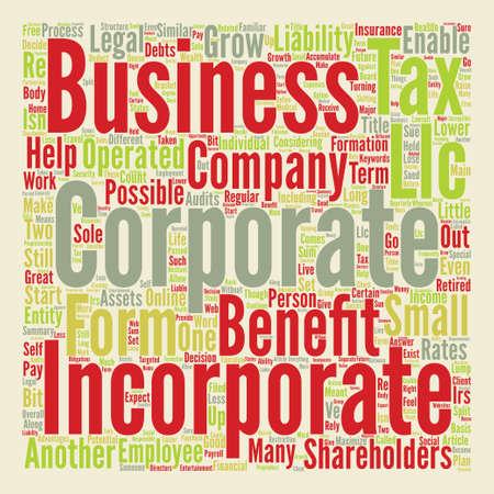長い期間の利点単語クラウド コンセプト本文あなたのビジネスを組み込む  イラスト・ベクター素材