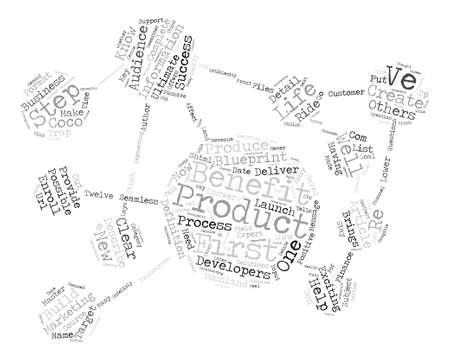 Master The First Step Of Successful Product Development text background word cloud concept