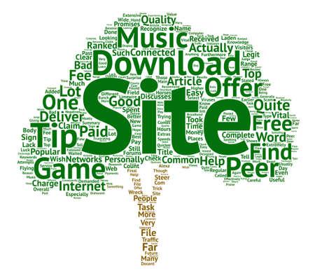 음악 및 게임을 효과적으로 다운로드하는 데 도움이되는 유용한 정보. 일러스트