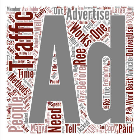 before: How To Perfect Your Ads Before They Break The Bank Word Cloud Concept Text Background Illustration