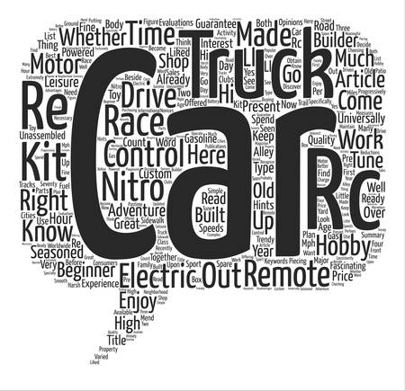 Enjoy The Adventure Drive Remote Control Cars text background word cloud concept