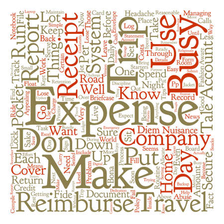 The Tale of the Trip text background word cloud concept