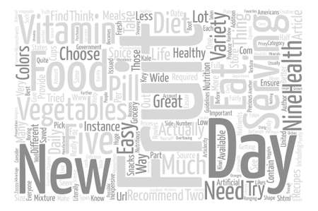 http: In Health Variety Is The Spice of Life Literally text background word cloud concept