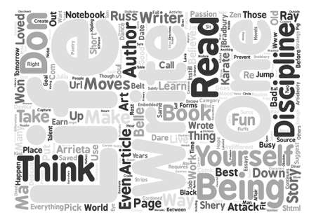 Write Strategy Think Believe Attack text background word cloud concept