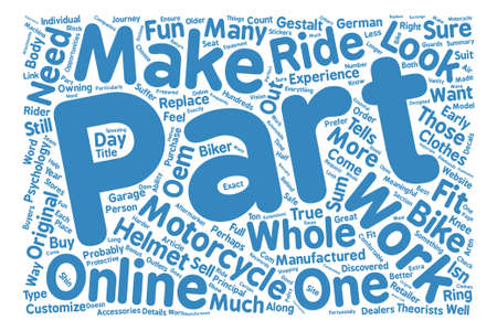 discovered: Part Of The Ride text background word cloud concept