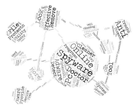 Effective Spyware And Adware Utilities text background word cloud concept