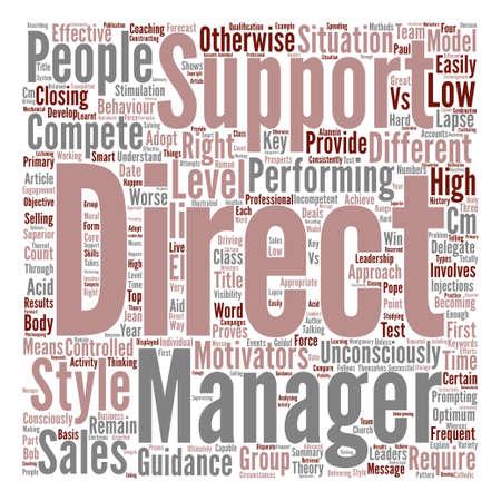 Hoe een First Class Sales Team Word Cloud Concept Tekstachtergrond te ontwikkelen Stock Illustratie
