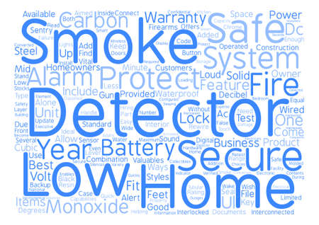 Lowes Home Security System text background word cloud concept