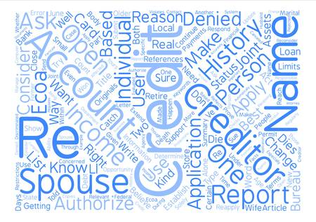 How Do You Establish A Credit History text background word cloud concept