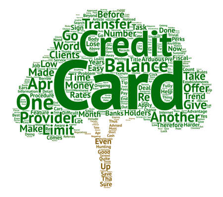 How Apr Credit Cards Can Help You Save Money Word Cloud Concept Text Background
