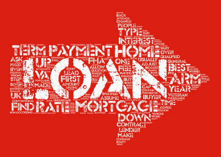 make summary: How Do I Find The Best Home Loan Word Cloud Concept Text Background