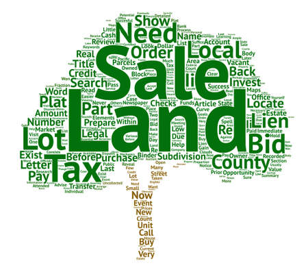 land for sale clipart. land for sale how to prepare a tax word cloud concept text clipart