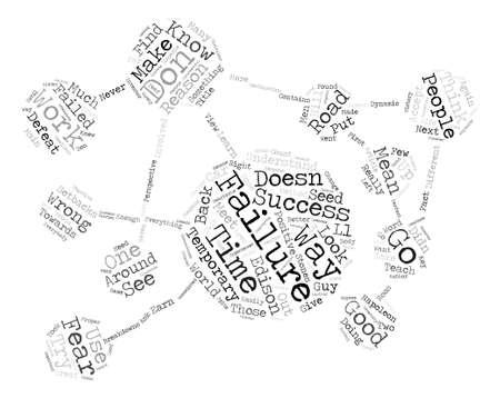 Por qué la falla es buena para ti texto concepto de nube de palabras de fondo
