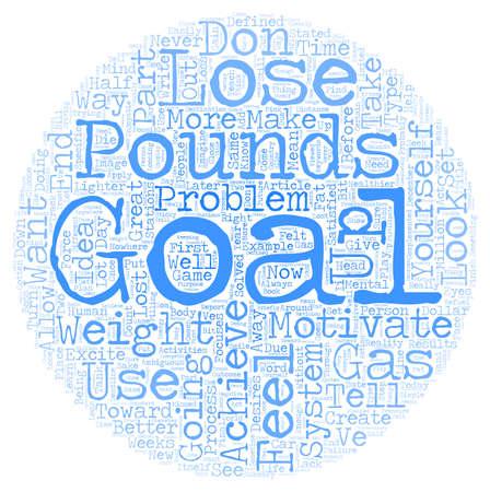achieve goal: How To Achieve Your Desires With A Goal Achievement System Part 1 text background wordcloud concept Illustration