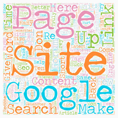 How To Suck At SEO text background wordcloud concept