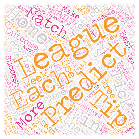 How To Make A Profit From FREE X Soccer Picks Tips text background wordcloud concept Ilustrace