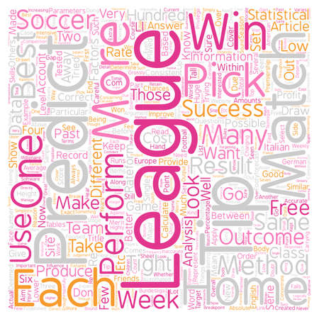 How To Make A Profit From FREE 1X2 Soccer Picks Tips text background wordcloud concept