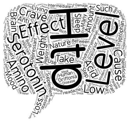 HTP Nature s Anti Depressant text background wordcloud concept