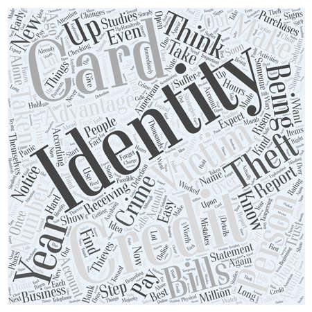 according: identity theft victims Word Cloud Concept