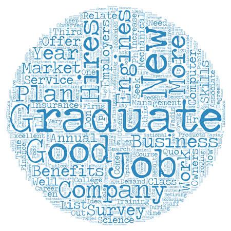 according: jobs for the new grad dlvy nicheblower com text background wordcloud concept