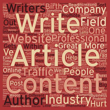 Ik ben een auteur Is dit de volgende grote rage tekst achtergrond wordcloud begrip