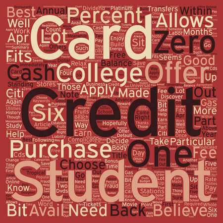 right choice: Know Which College Student Credit Card Offer Is Right For You text background wordcloud concept Illustration